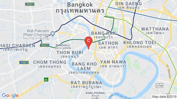RHYTHM Charoenkrung Pavillion location map