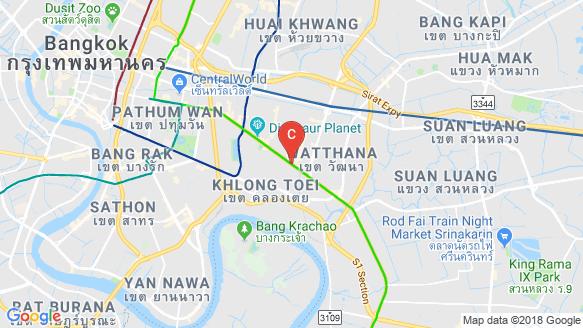 The Esse Sukhumvit 36 location map