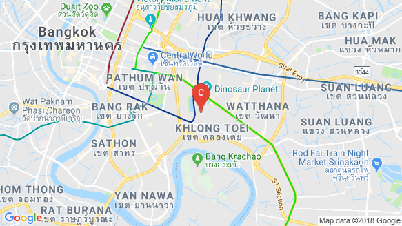 The Nest Sukhumvit 22 location map
