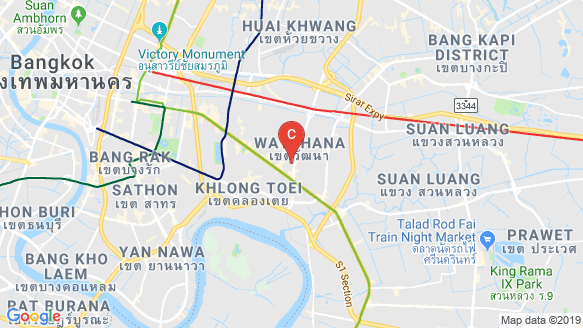 SYMYS Sukhumvit 61 location map