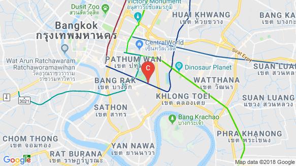 Saladaeng One location map