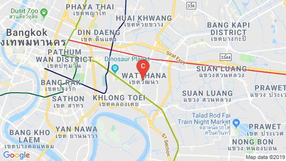 RHYTHM EKKAMAI ESTATE location map