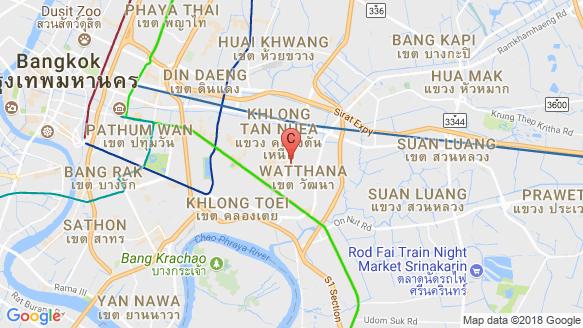 The Fine Bangkok location map