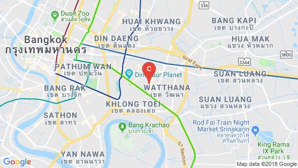 Runesu Thonglor 5 location map