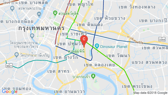 Maestro 02 Ruamrudee location map