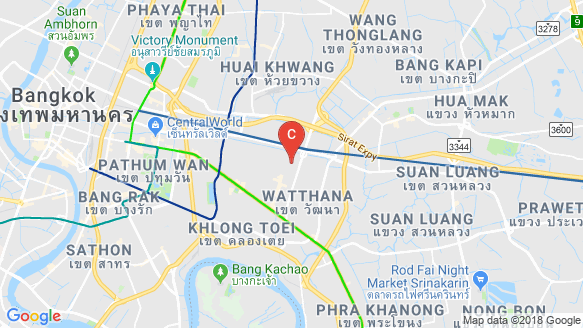 Chewathai Residence Thonglor location map