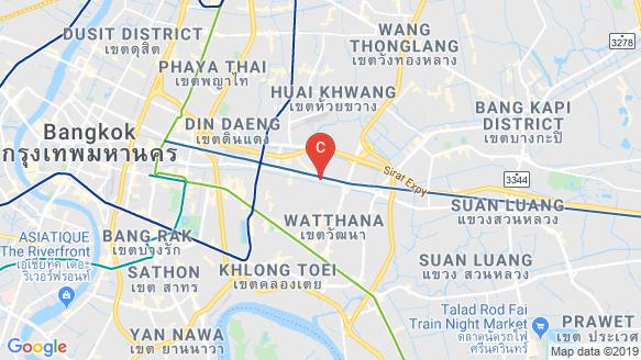 The Base Phetchaburi - Thonglor location map