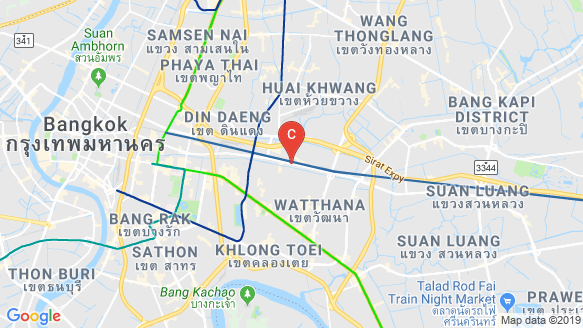 แผนที่สถานที่ คลาวด์ ทองหล่อ-เพชรบุรี