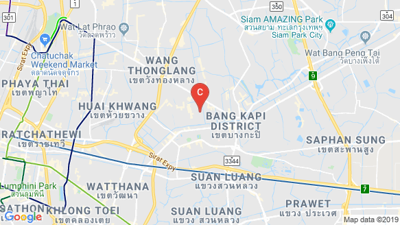 The Connect Ladprao 126 location map