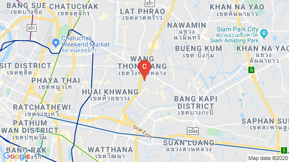 The Gentry Ekamai-Ladprao location map