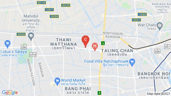 แผนที่สถานที่ ศุภาลัย พรีมา วิลล่า ปิ่นเกล้า - พุทธมณฑลสาย 2