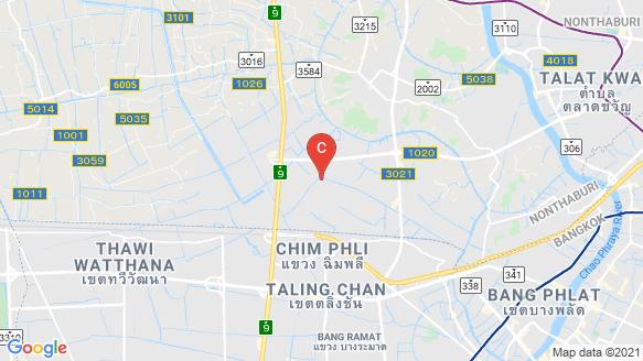 Bangkok Boulevard Rama 5 location map