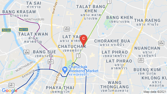 Centric Ratchayothin location map