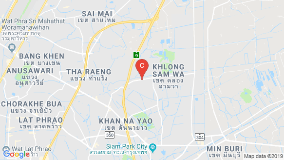 The Passage Ramintra-Khubon location map