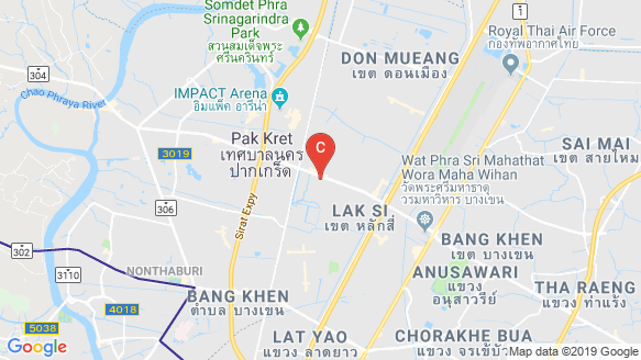 The Cube South Changwattana 15/1 location map