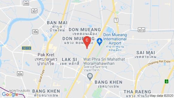 The Plan Donmueang location map