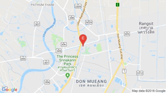 แผนที่สถานที่ ดีไลท์ ดอนเมือง - รังสิต