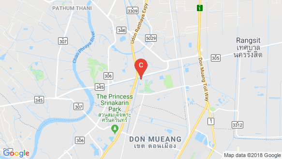 Delight Donmuang-Rangsit location map