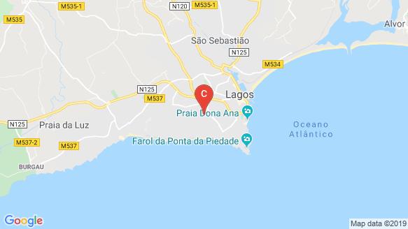Santa Maria location map
