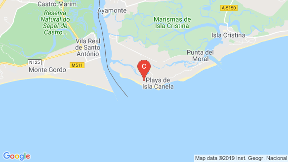 Los Flamencos location map