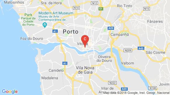Rua do Souto location map
