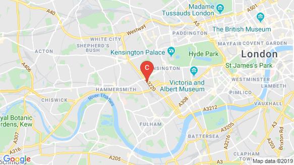 Royal Warwick Square location map