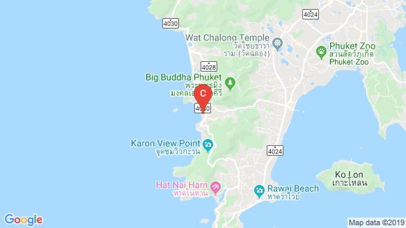 Kata Paradise location map