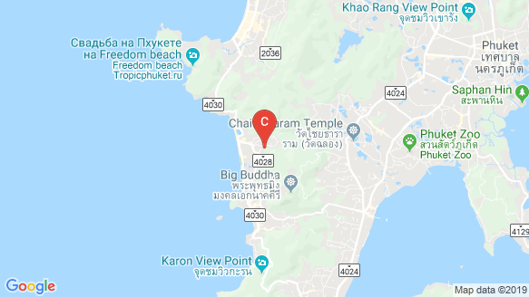 Melia Phuket Karon Residences location map